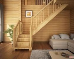 Балясины в конструкции лестницы