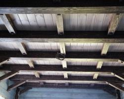 Оригинальное декорирование потолка
