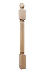Столб 90х90 деревянный(римский)