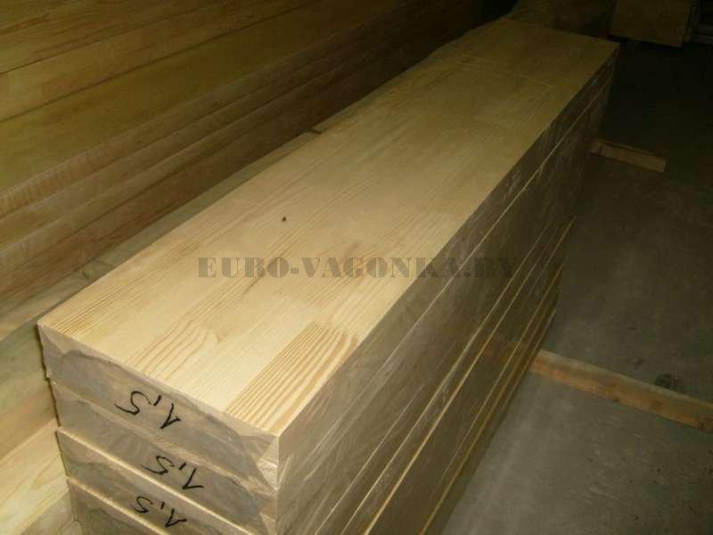 Ступени срощенные деревянные для лестниц купить в Минске