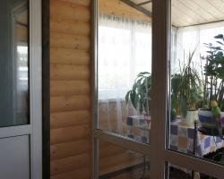 Во восём доме использован материал из хвойных пород древесины